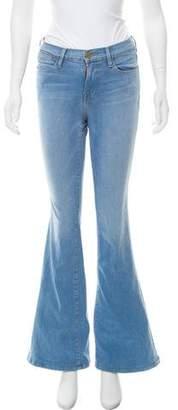 Frame Lovella Wide-Leg Jeans