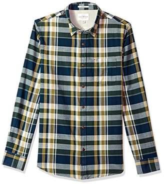 Lucky Brand Men's Casual Long Sleeve Plaid Ballona Button Down Shirt in Multi