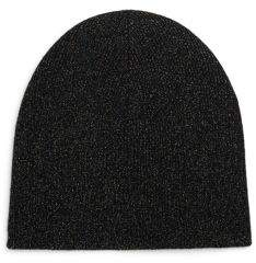 Saks Fifth Avenue COLLECTION Metallic Cashmere Hat
