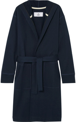 Reigning Champ Loopback Cotton-Jersey Robe $145 thestylecure.com