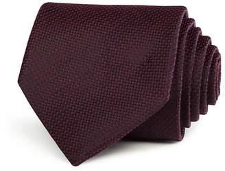 John Varvatos Star USA Textured Solid Classic Tie $98 thestylecure.com