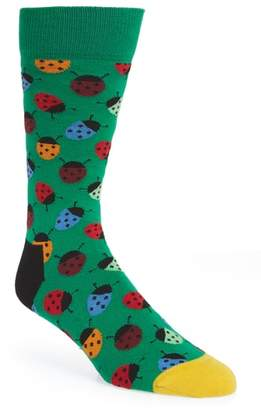 Happy Socks Ladybug Socks