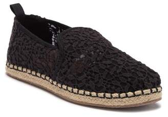 Toms Floral Lace Deconstructed Alpargata Slip-On Sneaker