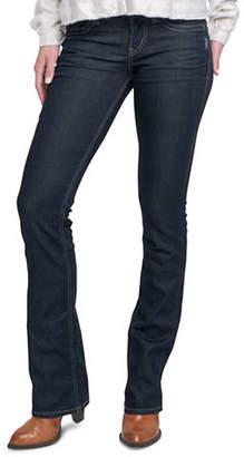 Silver Jeans Suki Mid-Rise Slim Bootcut Jeans