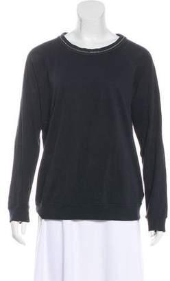 Brunello Cucinelli Embellished Long Sleeve Top