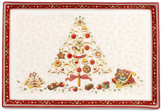 Villeroy & Boch Winter Bakery Large Rectangular Cake Plate