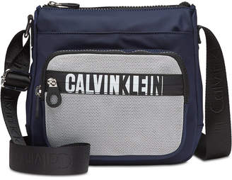 Calvin Klein Athleisure Small Nylon Messenger