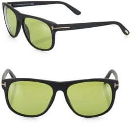 Tom Ford Olivier 58MM Round Sunglasses