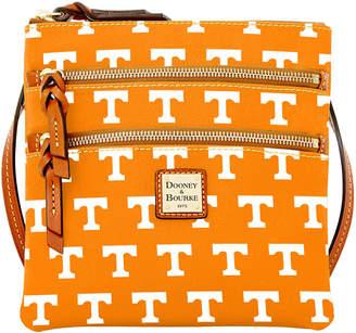 Dooney & Bourke Tennessee Volunteers Triple Zip Crossbody Bag