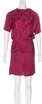 Isabel Marant Jacquard Mini Dress