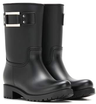 Roger Vivier Embellished rubber boots