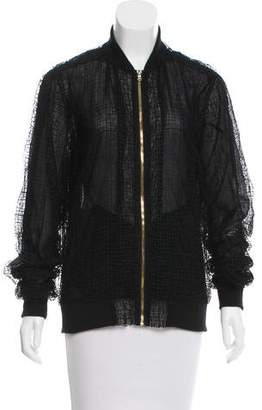 Sophie Theallet Lace Bomber Jacket w/ Tags