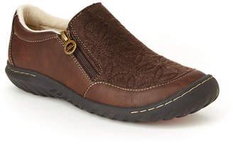 Jambu J Sport By Womens Crimson Slip-On Shoe Round Toe