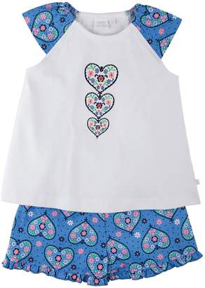 Mini Vanilla Girls Shortie Pyjamas