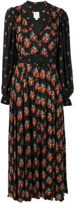 Gül Hürgel floral print maxi dress