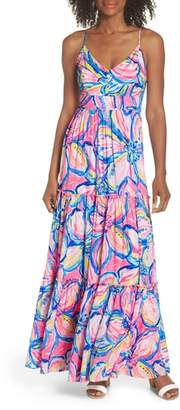 Lilly Pulitzer R) Melody Maxi Dress