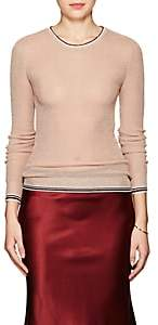 Giada Forte WOMEN'S STRIPE-DETAILED METALLIC SWEATER