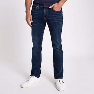River Island Dark blue bootcut jeans