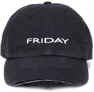 Vetements Friday cotton cap