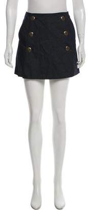 Tibi High-Rise Mini Sailor Skort