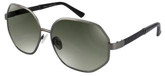 Vince Camuto Women's Hexagon 64mm Metal Frame Sunglasses