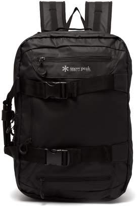 SNOW PEAK 3-way nylon backpack