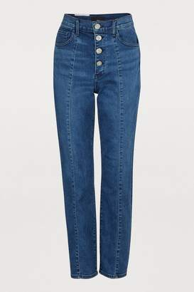 3x1 3 X 1 Jackie high-waisted slim jeans
