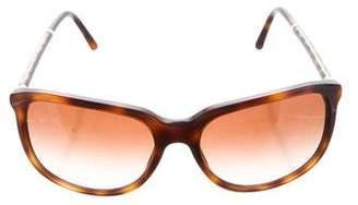 Burberry Tortoiseshell Tinted Sunglasses