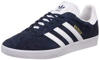 adidas Unisex Adults' Gazelle Low-Top Sneakers, Blue (Collegiate Navy)