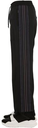 Burberry Wool, Mohair & Tech Jersey Pants