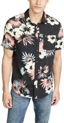 RVCA Romeo Floral Short Sleeve Shirt