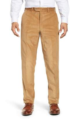 74dcfab77 John W. Nordstrom R) Torino Traditional Fit Flat Front Corduroy Trousers