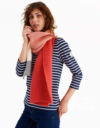 Joules Clothing French Navy Annis Knitted Scarf