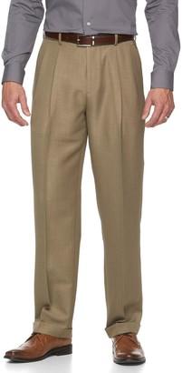 Croft & Barrow Big & Tall Classic-Fit Easy-Care Pleated Dress Pants
