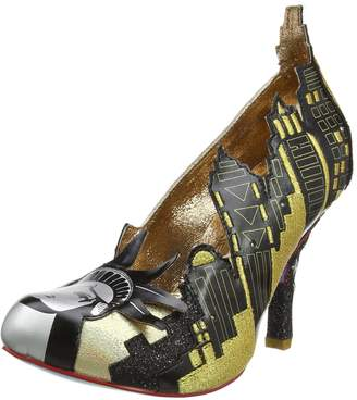 Irregular Choice New York - Black/ (Man-Made) Womens Heels 7 US