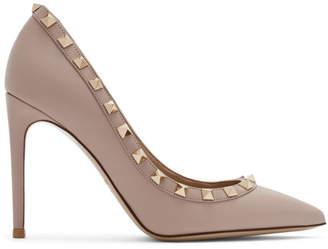 Valentino Pink Garavani Rockstud Heels
