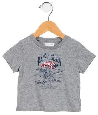 Ralph Lauren Boys' Printed Short Sleeve T-Shirt