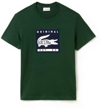 Lacoste Men's Original Lettering T-Shirt
