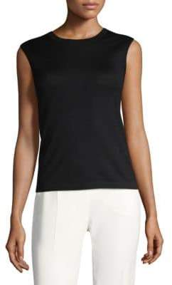 Escada Wool Sleeveless Top