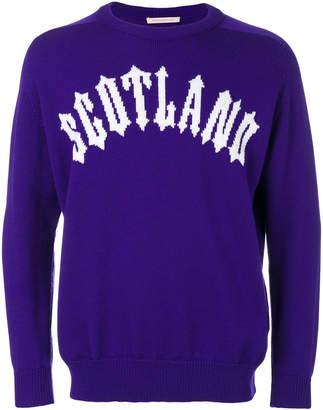 Christopher Kane Scotland knit jumper