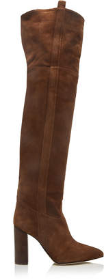 Paris Texas Suede Over-The-Knee Boots