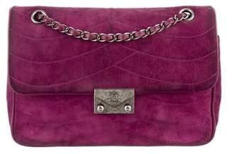 Chanel Medium Suede Flap Bag