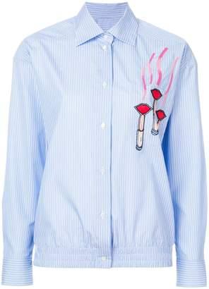 Valentino applique detail shirt