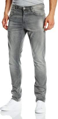 Tom Tailor Men Slim Jeans Aedan Grey-Denim in 36/34