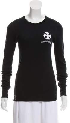Chrome Hearts Printed Long Sleeve T-Shirt