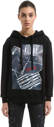 Versus Zayn X Printed Cotton Sweatshirt