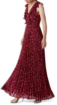 Whistles Adaline Celia-Print Maxi Dress
