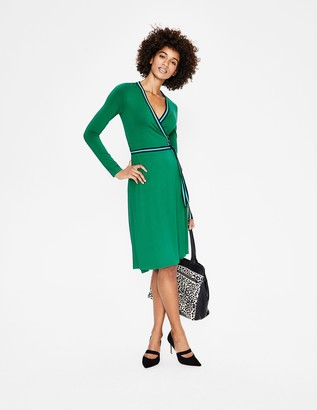 Cara Jersey Wrap Dress