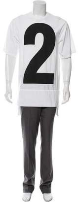 DSQUARED2 Graphic Print Oversize T-Shirt