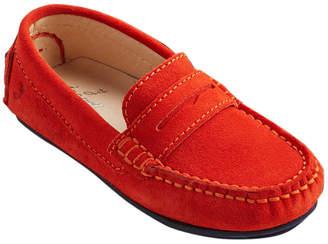 Jacadi Boprano Leather Slip-On Moccasin
